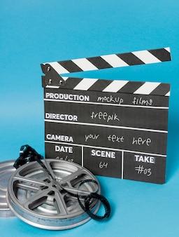 Ardósia de filme de cinema