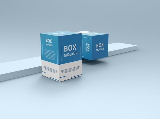 Arquivo psd de maquete de caixa