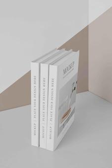 Arranjo da capa do livro de mock-up