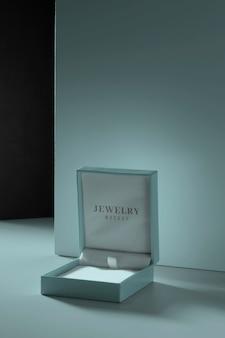 Arranjo de embalagem de joias de luxo