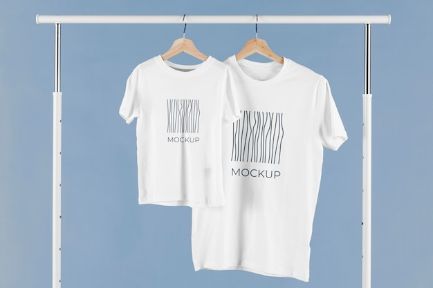 Arranjo de maquete de camiseta para o dia dos pais