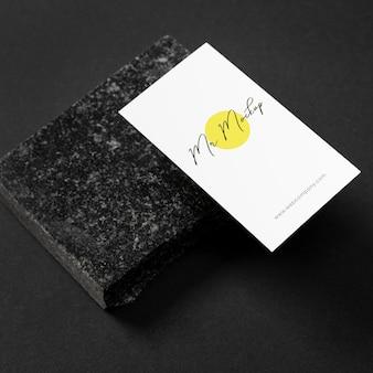 Arranjo moderno de maquete de cartão de visita