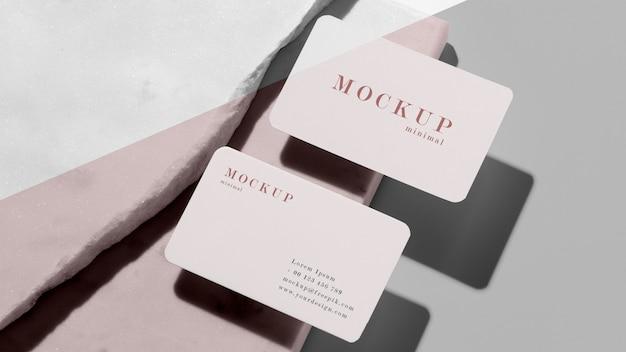 Arranjo moderno de modelo de cartão de visita