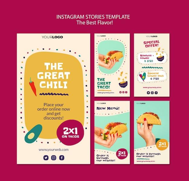 As melhores histórias de sabores do instagram