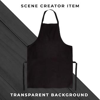 Avental em fundo transparente