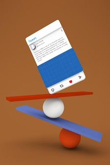 Balanced social media v2