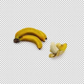 Bananas isométricas