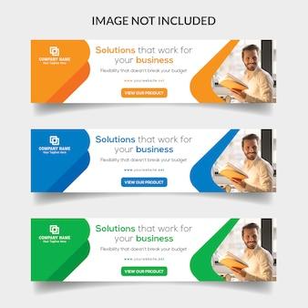 Bandeira da web de negócios