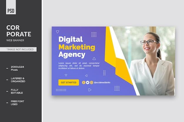 Banner da web corporativo