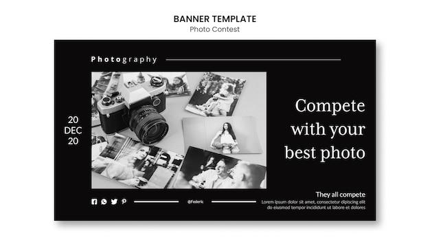 Banner de competição de fotos