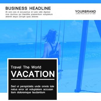 Banner de férias