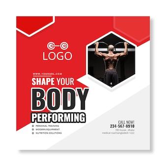 Banner de fitness