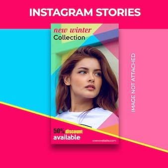 Banner de histórias do instagram