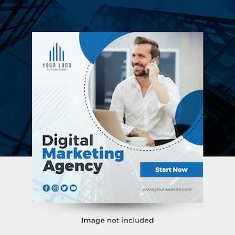 Banner de mídia social de negócios criativos