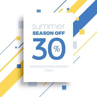 Banner de venda verão