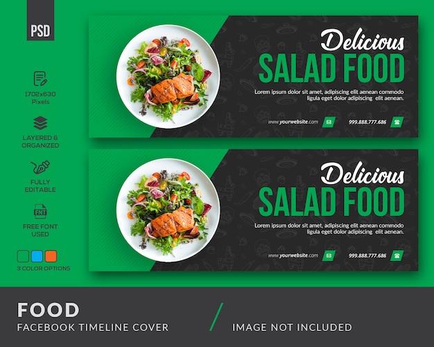 Banner do facebook de alimentos