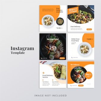 Banner do instagram de alimentos