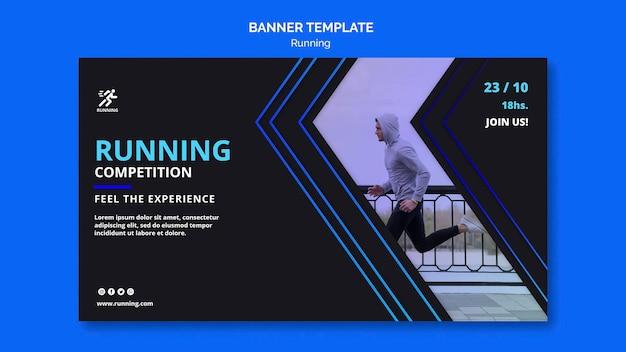 Banner em execução modelo de competição