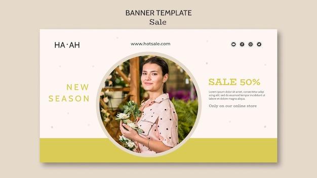 Banner horizontal da oferta de venda