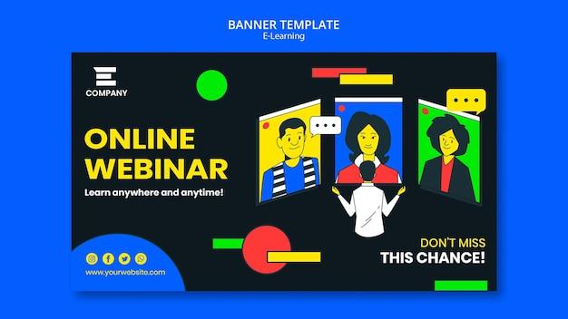 Banner horizontal da plataforma de e-learning