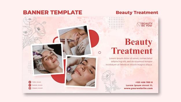 Banner tratamento de beleza