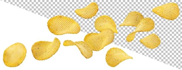 Batatas fritas estragadas isoladas