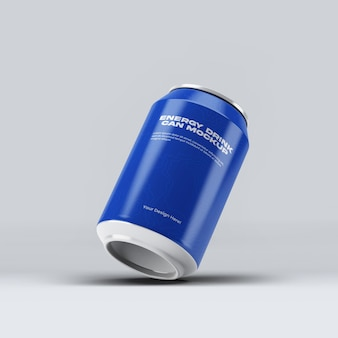 Bebida energética pode criar maquete com design isolado