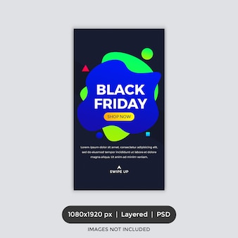 Black friday sale instagram história