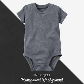 Body cinza transparente para bebê ou crianças