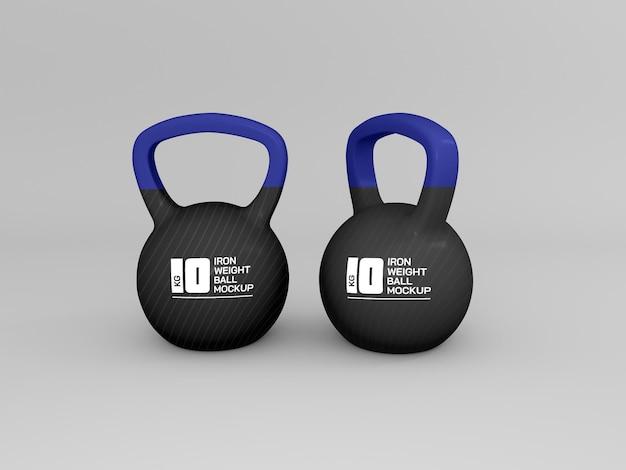 Bola de peso para maquete de treinamento