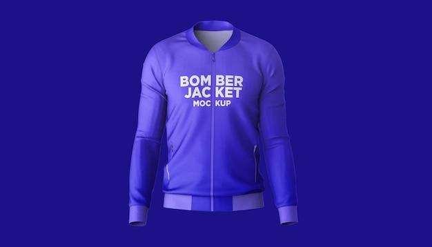 Bomber jacket vista frontal maquete