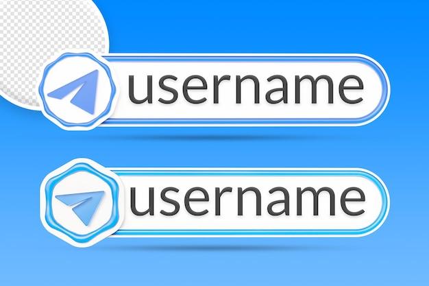 Botão renderização isolada do botão do terceiro banner do telegrama