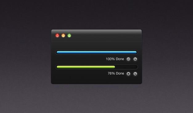 Botões escuros download gratuito ing mac procent psd ui interface com o usuário fazer upload