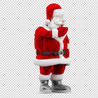 Brinquedo de natal santa