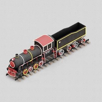 Brinquedo de trem de natal