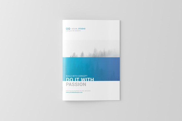 Brochura a4 / maquete de catálogo