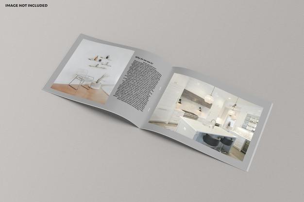 Brochura a4 modelo de paisagem