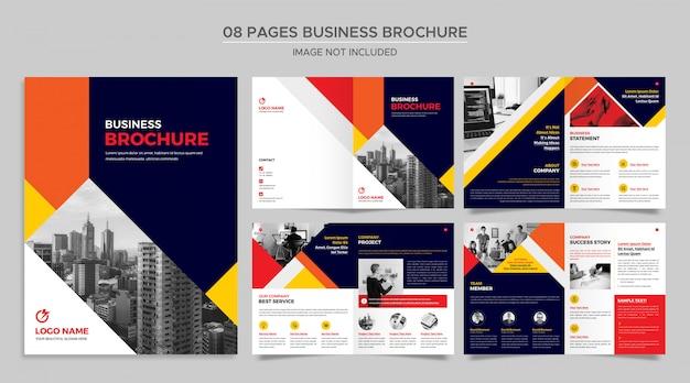 Brochura comercial de páginas