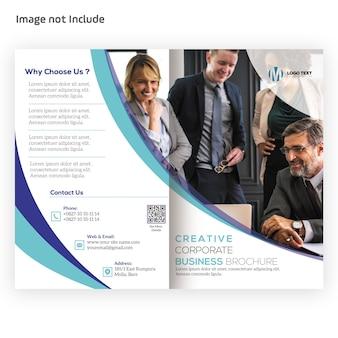 Brochura corporativa bi-fold