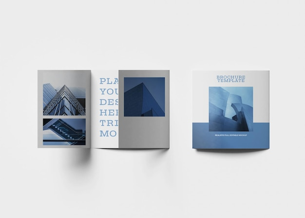 Brochura design mockup