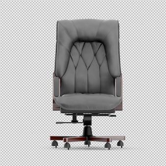 Cadeira de escritório 3d isolado render