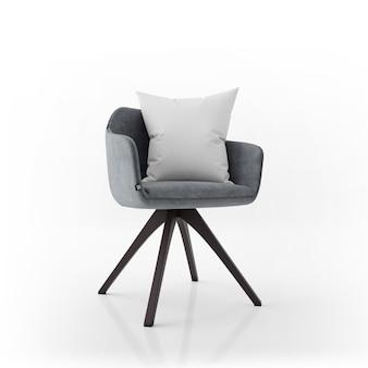 Cadeira e travesseiro