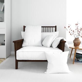 Cadeira moderna e confortável