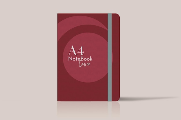 Caderno de capa. aplicável à apresentação de negócios, cadernos, planejadores