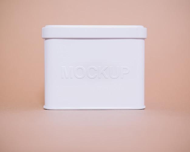 Caixa branca mock up projeto