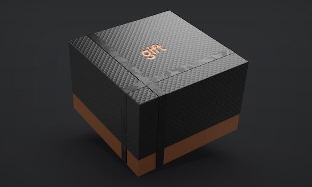 Caixa de presente de luxo com fita
