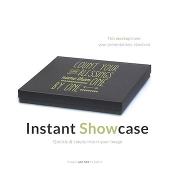 Caixa de presente maquete Psd grátis
