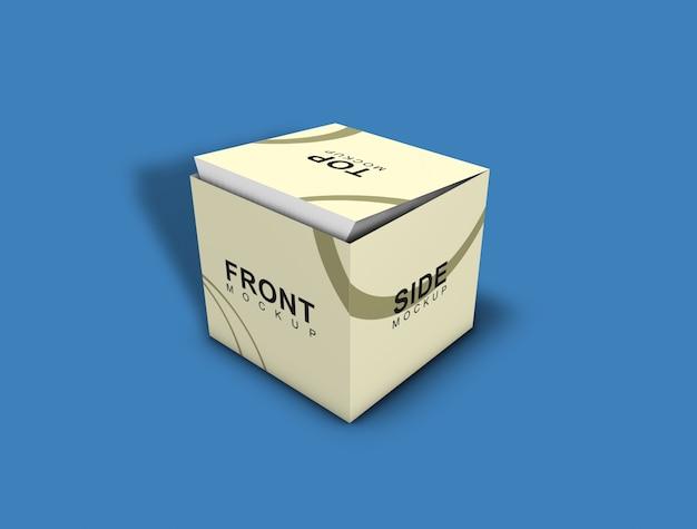 Caixa mockup - embalagem