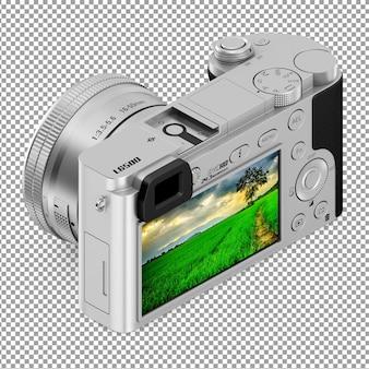 Câmera isométrica com display