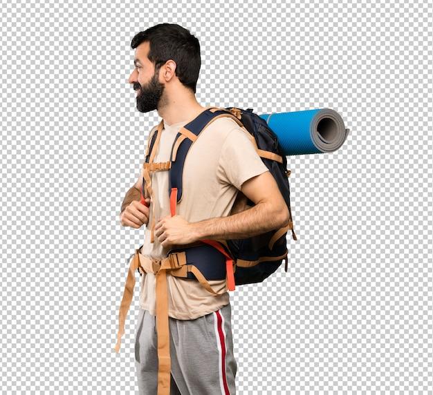 Caminhante homem andando